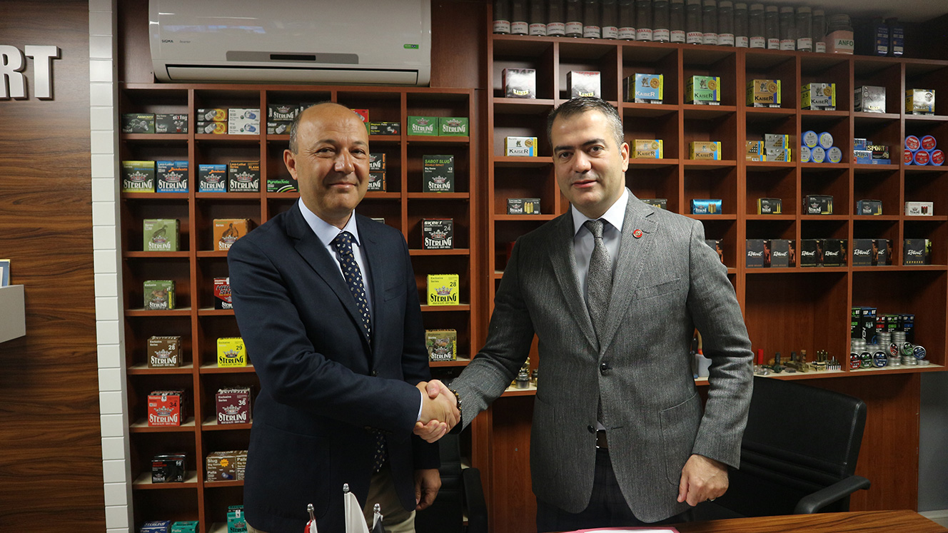 Altunbaş became the Offical Sponsor for Turkey Shooting and Hunting Federation