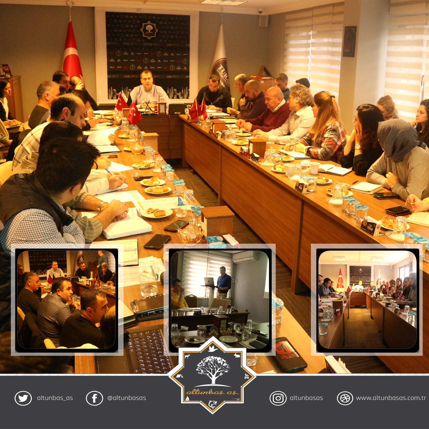 ALTUNBAŞ A.Ş. 2019 YEAR-END MEETINGS
