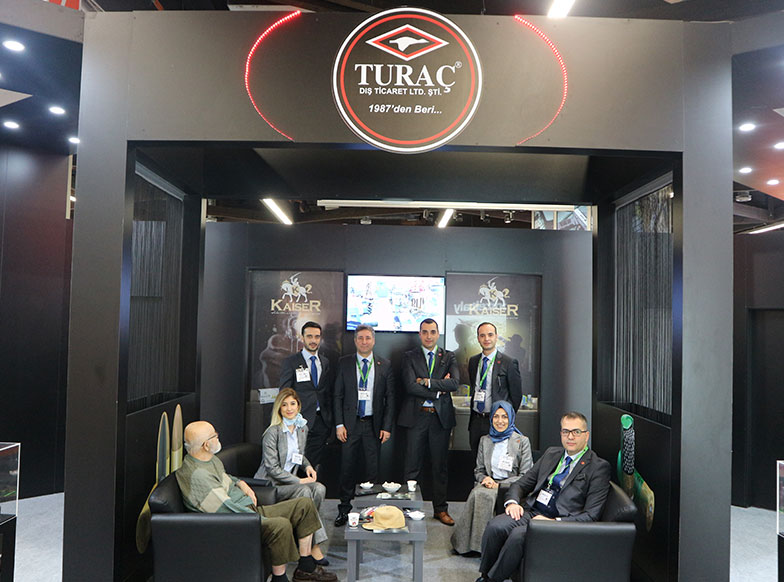 Turaç Returns from IWA 2018 Having Made Record-Level Contacts